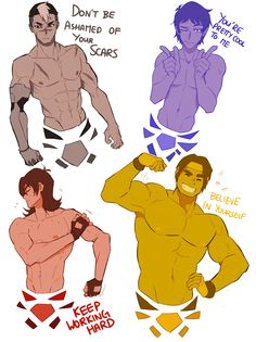"""""""Motivational Pinup voltron boys for the you who might be having a bad day! Shiro Voltron, Voltron Klance, Voltron Force, Voltron Comics, Voltron Fanart, Form Voltron, Voltron Ships, Hunk Voltron, Voltron Memes"""