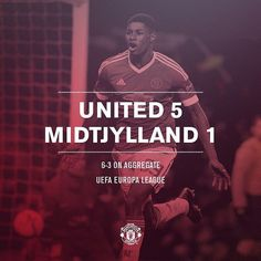 FT: #mufc 5 Midtjylland 1 (6-3 agg). The Reds are through to the last 16 of the Europa League after a brilliant win over the Danish champions. by manchesterunited