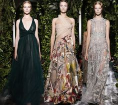Valentino Couture Fall/Winter 2014-2015 Collection - Fashion Trends, Makeup Tutorials, Hairstyles and Style Secrets