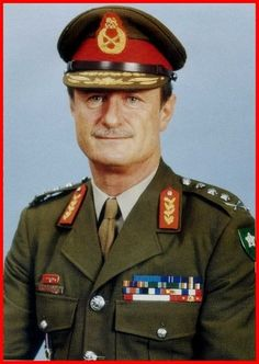 Gen Jannie Geldenhuys is a former South African military commander who served as Chief of the South African Defence Force between 1985 and 1990