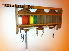 Martial Arts Karate Belt Display Rack by mobymick on Etsy