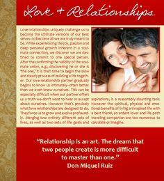 Love and Relationships, Love, Don Miquel Ruiz, Soulmates, Winter, Christmas, Hanukkah, Holidays, Quotes