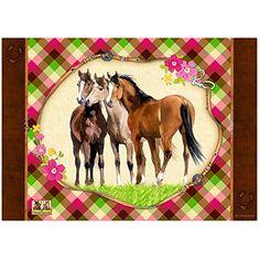 Spiegelburg 11352 Schreibtischauflage Pferdefreunde