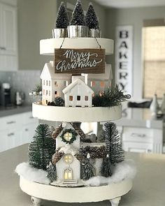 Related posts: 18 Farmhouse Christmas Decor Ideas To Recreate Pretty Rustic Christmas Tree Decoration Ideas 16 brilliant, but still cheap ideas for the Christmas decoration New Christmas Decoration Ideas Farmhouse Christmas Decor, Rustic Christmas, Christmas Holidays, Christmas Crafts, Christmas Ornaments, White Christmas, Christmas Kitchen Decorations, Christmas Tree With Train, Vintage Christmas Decorating