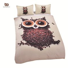Cheap bedding velvet, Buy Quality bedding set king directly from China bedding cheap Suppliers: Bedding Sets Owl Bedding Duvet Cover Set Soft Unique Design Queen Owl Quilt Set Factory Direct & Owl Bedding, Cute Bedding, Cheap Bedding Sets, Queen Bedding Sets, Cotton Bedding, Comforter Sets, Elephant Bedding, Affordable Bedding, Quilt Bedding