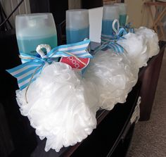 Shower gel baby shower prizes