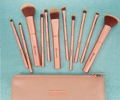New Metal Rose Brush Set at bh Cosmetics + A New Palette | The Budget Beauty Blog