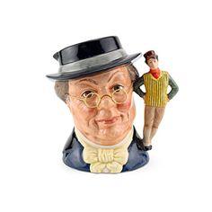 Mr Pickwick New - D6959 - Royal Doulton Large Character Jug