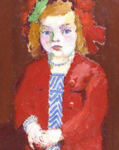 Kees van Dongen (Dutch, 1877-1968) Dolly au collier d'argent