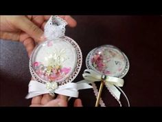 Shaker Wand and Ornament - YouTube