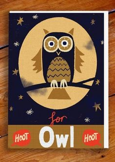 O for Owl - Paul Thurlby