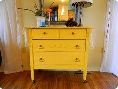 -yellow dresser love - NellieBellie