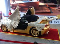 Chinese Tuner Turns A Z4 Into A Golden Dragon