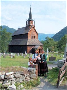 Norway - Staff church in Kaupanger