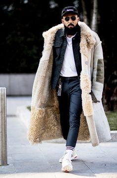Что носят мужчины во время Недели моды.