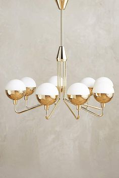 Anchored Orb Chandelier