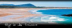 Praia de A Frouxeira (Frouxeira Beach), Valdoviño, Galicia, Spain