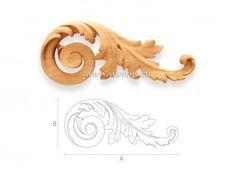 Декоративные накладки на мебель из дерева. Резные панно. Фото - Ставрос