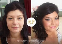 Bridal Makeup sultry smokey eyes with soft pink lips and cheeks Bridal Makeup Looks, Wedding Makeup, Makeup Before And After, Absolutely Flawless, Flawless Makeup, Pink Lips, Bridal Make Up, Smokey Eye, Our Wedding