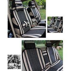 moda linho almofada do assento de carro honorv ™ para todas as estações aplicáveis à cinco lugares – BRL R$ 76,16