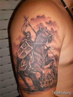 1000 images about tattoos on pinterest serbian knight tattoo and crest tattoo. Black Bedroom Furniture Sets. Home Design Ideas