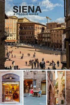 Where to eat in Siena as a local, a foodie guide #siena #tuscany
