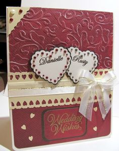 Wedding card in Fall colors - Cards. - Cricut Forums