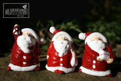 Weihnachtsmänner, Umweltfreundliche Weihnachtskarten, wildpepermint-design.de