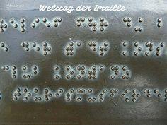 Heute ist: Welt-Braille-Tag  #Heute #Tag #Welttag #Today #Day #SpecialDay #Worldday #braille #blindenschrift