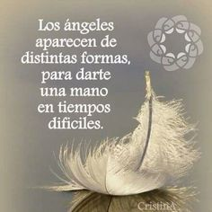 No photo description available. Positive Phrases, Positive Thoughts, Deep Thoughts, Positive Mindset, Angel Images, Quotes En Espanol, Love Phrases, Spanish Quotes, Meaningful Words