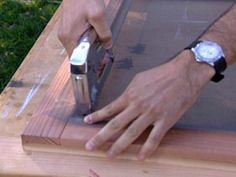 How To Build A Redwood Screen Door