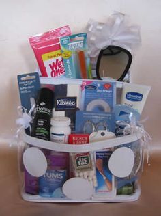 Wedding Day Survival Kit for wedding day.note to give to all my bride friends on their wedding day or what a get shower gift - Going Away College Gift Baskets