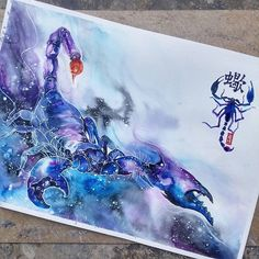 Image result for scorpion painting