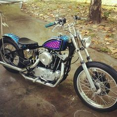 1975 Ironhead xl1000 stroker built by dave Johnson in Clearwater Florida