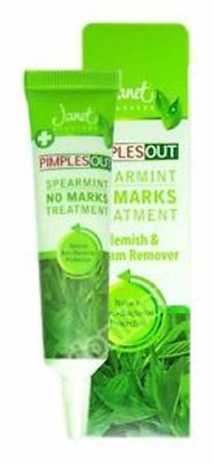 Janet Ayurveda Pimples Out Spearmint No Marks Treatment 15ml For Healthy & Clear Skin   Sri Lanka Mall