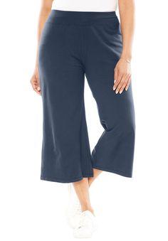 23e3150afca59 George Women s Plus-Size Millennium Suiting Pull-On Pant