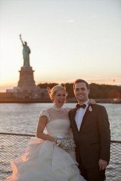 Ellis Island - A New York Destination Wedding - The Knot