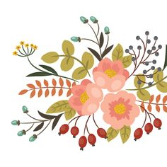 How to create a vintage floral arrangement in Photoshop Illustrator #illustratortutorials