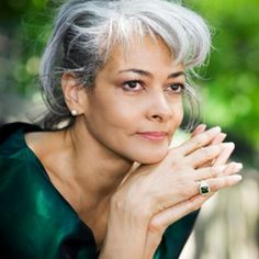 ... 20 Beautiful Gray Haired Women (Image Gallery) | Hair We Go! Products