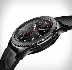O novoRelógio Gear S3 Samsungé verdadeiramente um relógio…