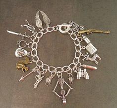 ZOMBIE APOCALYPSE Charm Bracelet by PlayBox on Etsy