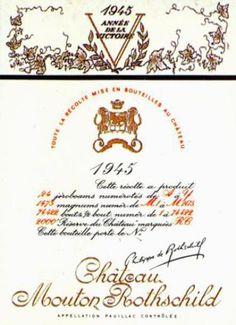 Chateau Mouton Rothschild 1945
