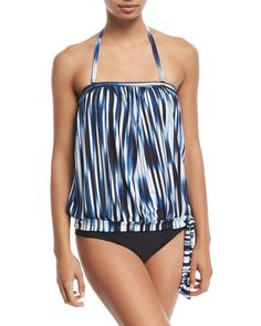 b5d7d61adc Athena Blue Horizon Bandini Swim Top