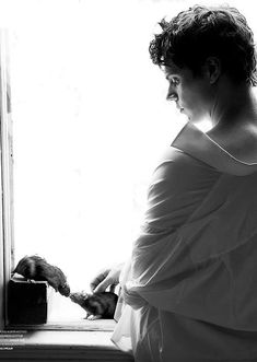 Evan Peters / Black & White Photography