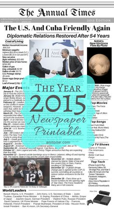 Welcome to the year Below you will find the list I compiled of major events, trends, world leaders, cost of living, and popular culture for the year I hope this helps you with the baby … Old Newspaper, Times Newspaper, Newspaper Archives, Everything Baby, Baby Scrapbook, World Leaders, Time Capsule, Book Journal