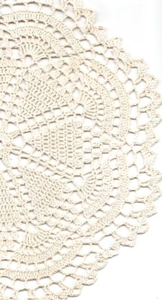 Christmas gift, Crochet doily, lace doilies, eco friendly, crocheted doilie, linen doily, hand made, table runner, napkin, cream, ecru via Etsy