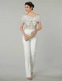 Tendência: noivas com calças!   Mariée: Inspiração para Noivas e Casamentos