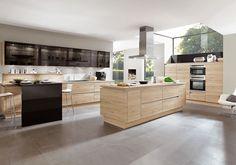 nobilia Küchen - Produkte - Küchengalerie - Hölzer