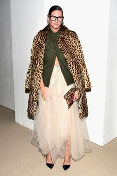 ☆Jenna Lyons attends 13th Annual CFDA/Vogue Fashion Fund Awards at Spring Studios on November 7, 2016 in New York City.