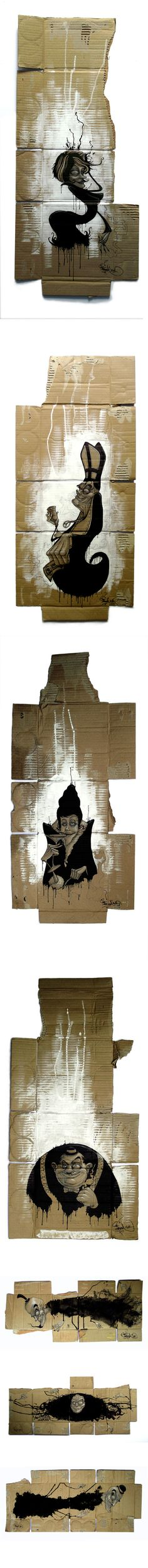 inKstinct (cardboard) by Mr. Zero - http://www.behance.net/mrzero
